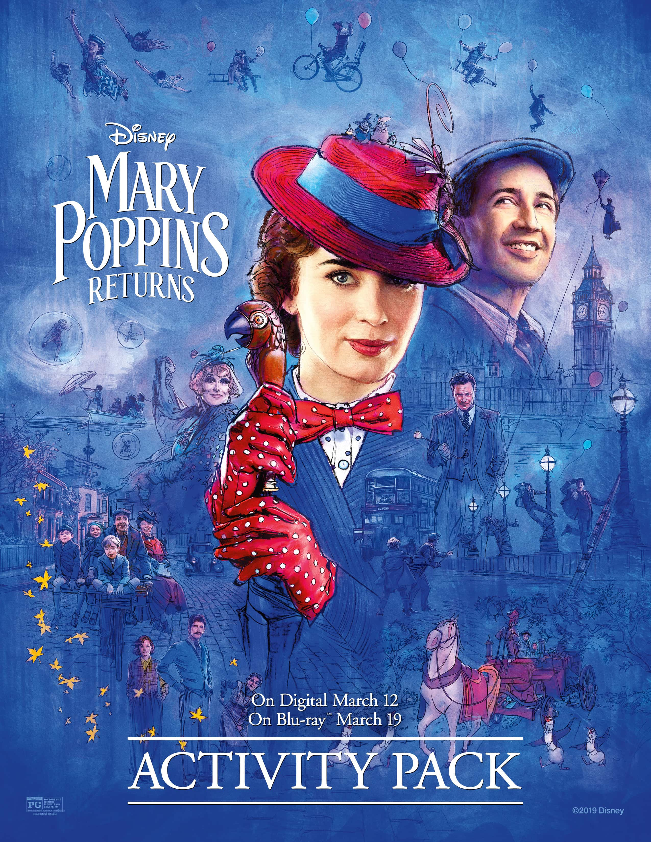 The Review Wire: Download a Mary Poppins Returns Activity Packet