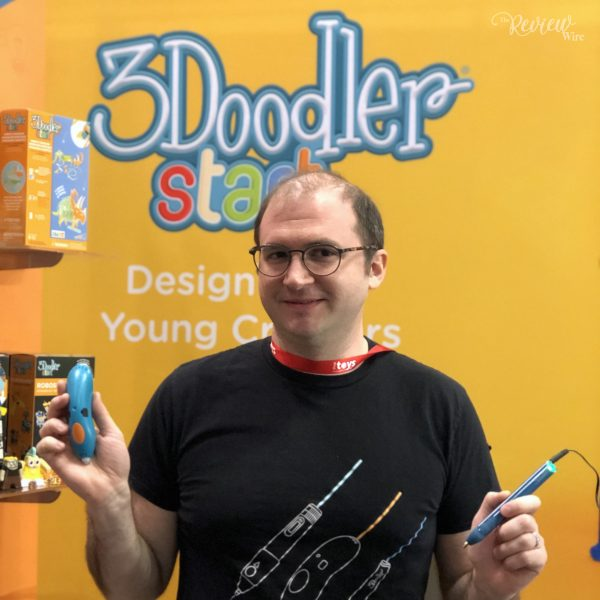 The Review Wire: Interview with Maxwell Inventor of 3Doodler