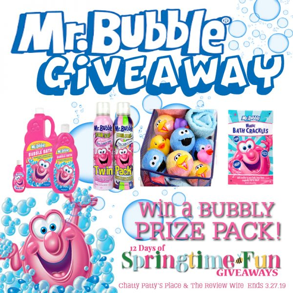 The Review Wire: Mr. Bubble Prize Pack Giveaway. Ends 3.27.19