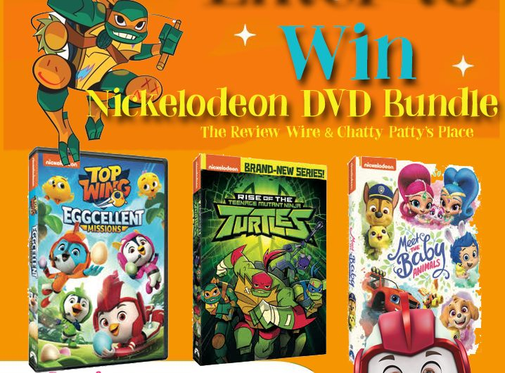 The Review Wire: Nickelodeon DVD Bundle Giveaway. Ends 3.29.19