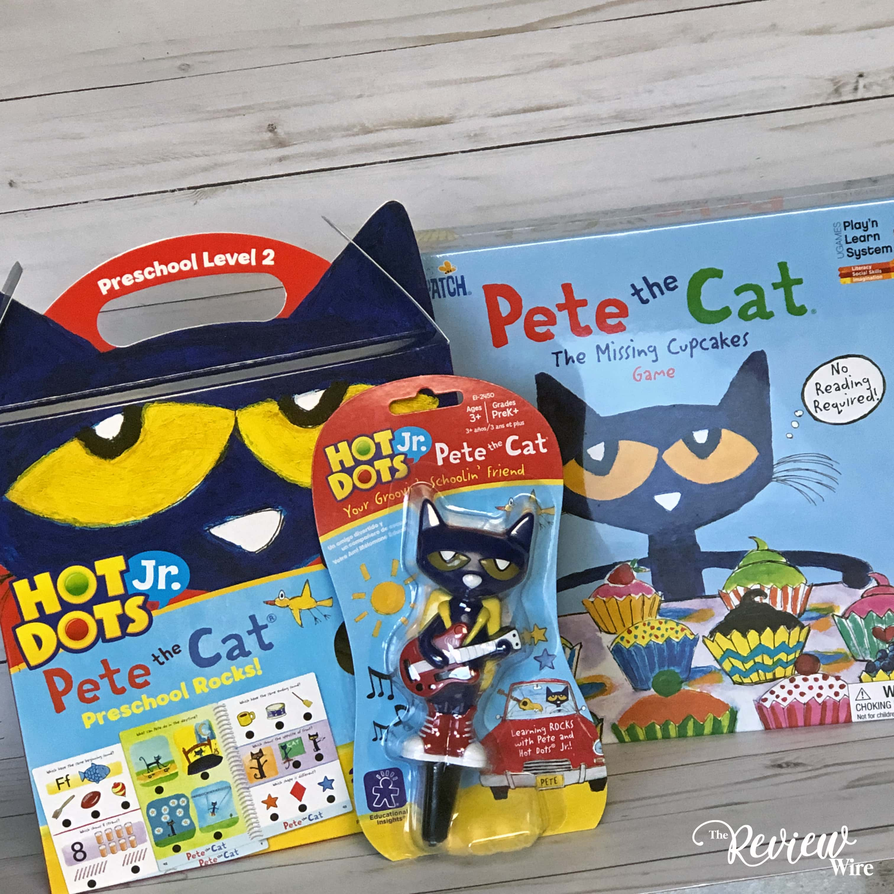 The Review Wire: Have Fun and Learn with Pete the Cat Games