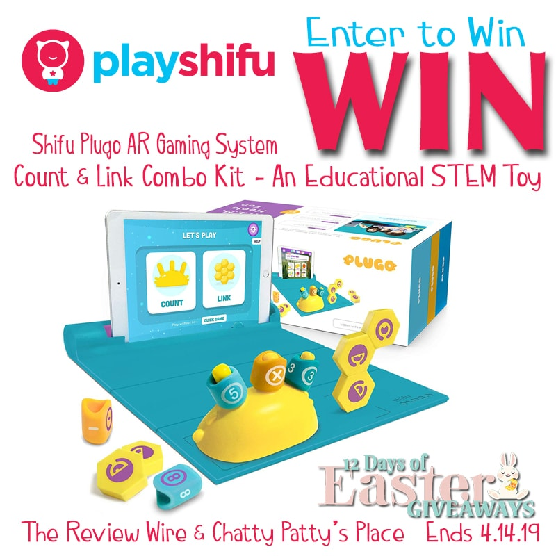 The Review Wire: Playshifu Plugo AR Game Giveaway. Ends 4/14/19