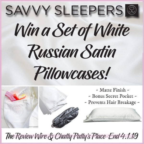 The Review Wire: Savvy Sleepers Pillowcase Giveaway. Ends 4.1.19