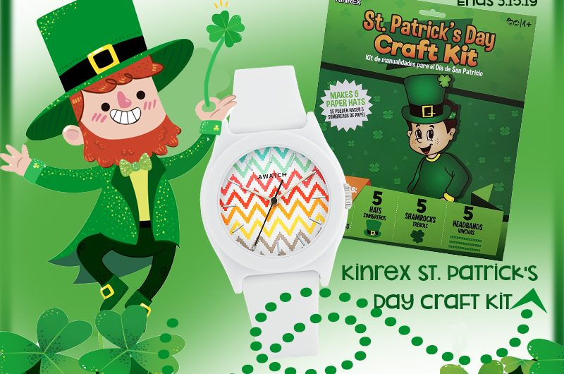 The Review Wire: St. Patrick's Day Giveaway. Ends 3.15.19