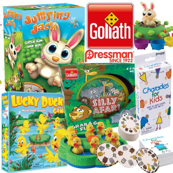Stay Busy this Spring Break with these Games from Goliath