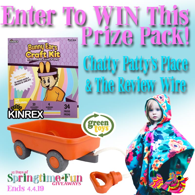 The Review Wire: Wagon + Car Seat Poncho + Easter Craft Kit Giveaway. Ends 4.4.19