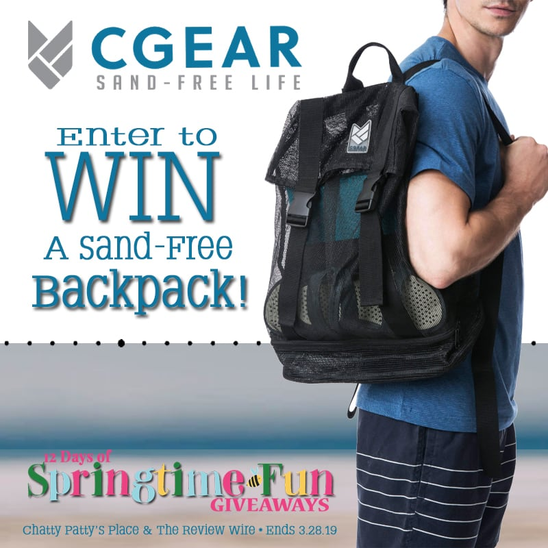 The Review Wire: cGear Backpack Giveaway. Ends 3.28.19