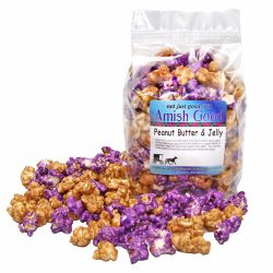 Amish Good Premium Peanut Butter and Jelly Popcorn