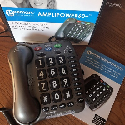 AmpliPower 60+ Extra Loud Phone Video Review