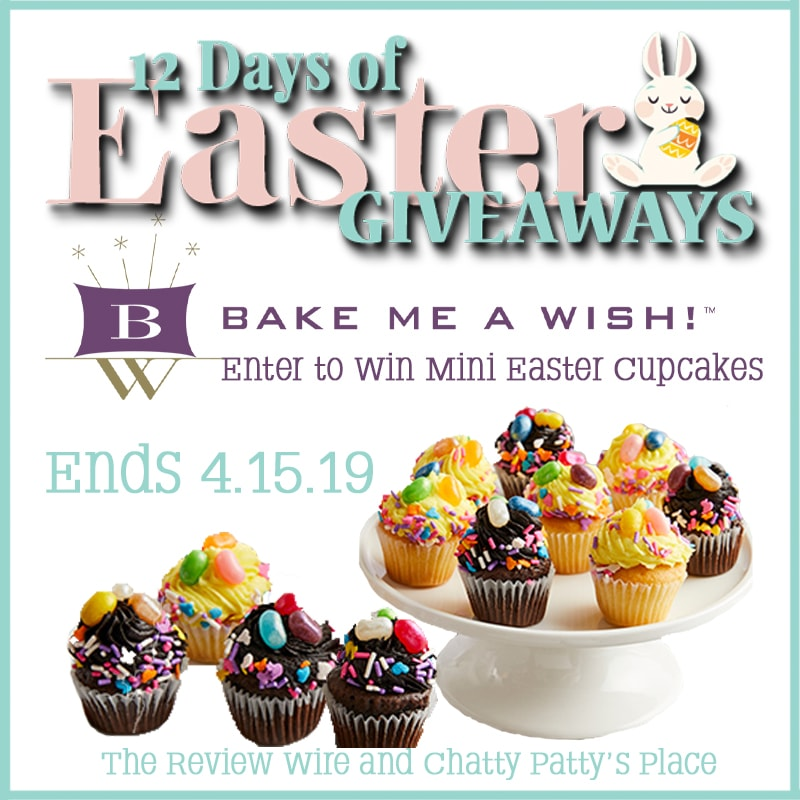 The Review Wire: Bake Me a Wish Giveaway. Ends 4.15.19