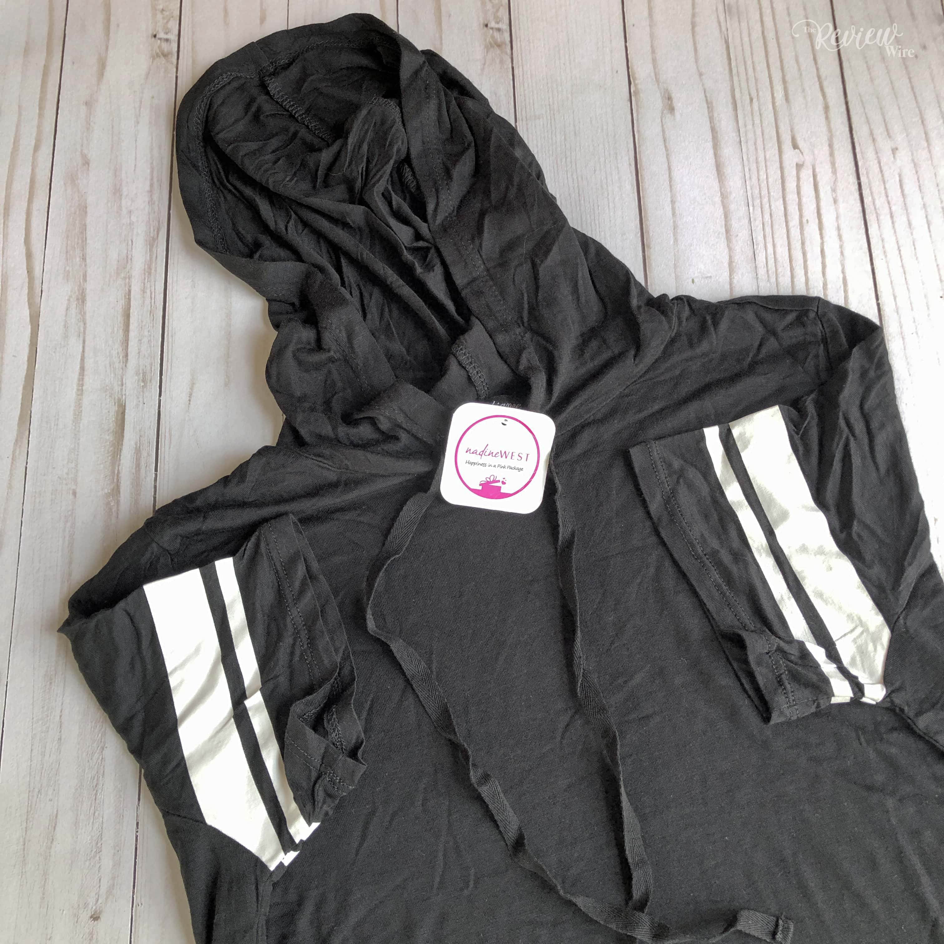 The Review Wire Nadine West April 2019 Black Hoodie T-shirt