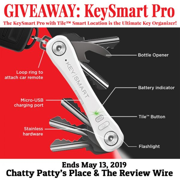 The Review Wire: KeySmart Pro Giveaway. Ends 5.13.19