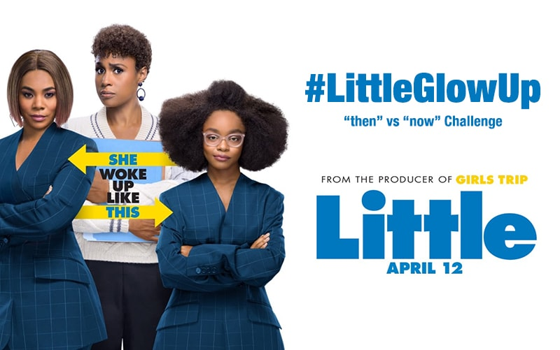 #LittleGlowUp Challenge
