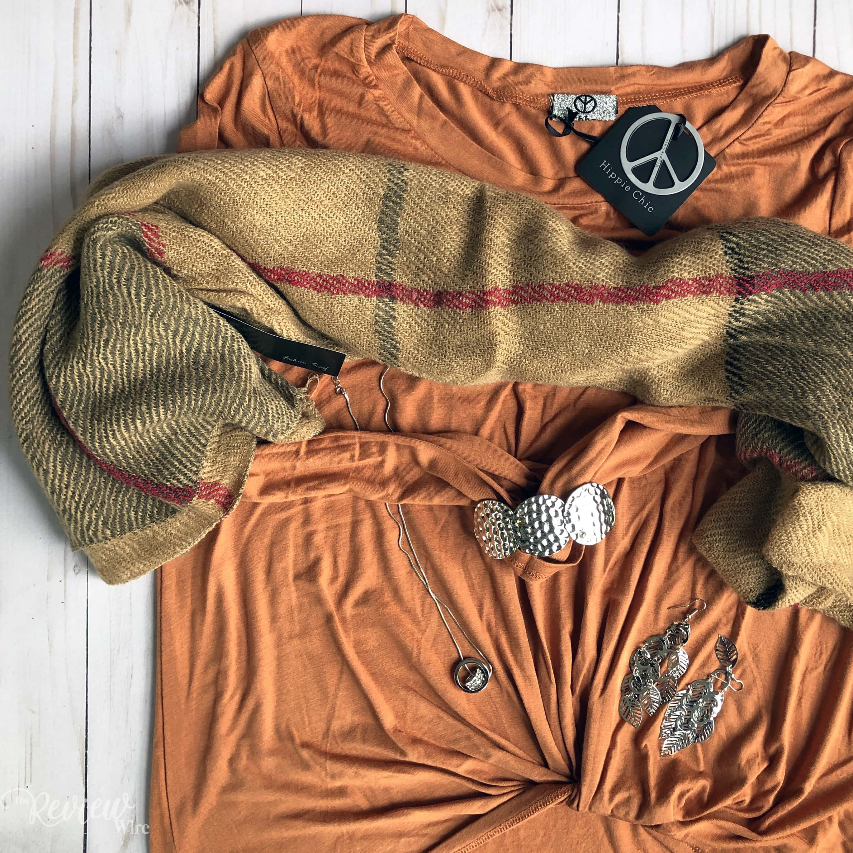 The Review Wire: Nadine West January 2019 Top & Scarf