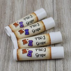 Peanut Butter & Grape Jelly Flavored Lip Balm