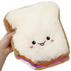 Peanut Butter and Jelly Sandwich Plush