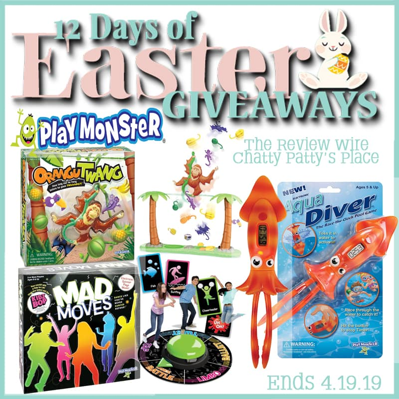 The Review Wire: PlayMonster Giveaway. Ends 4.19.19