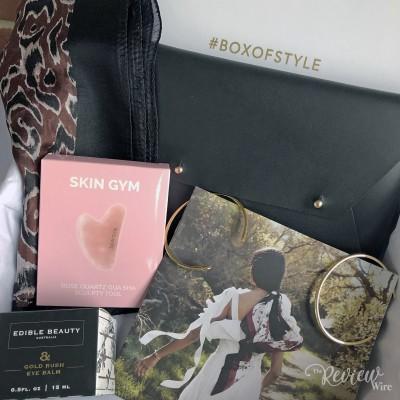 Spring 2019 Rachel Zoe's Box of Style Unboxing Video