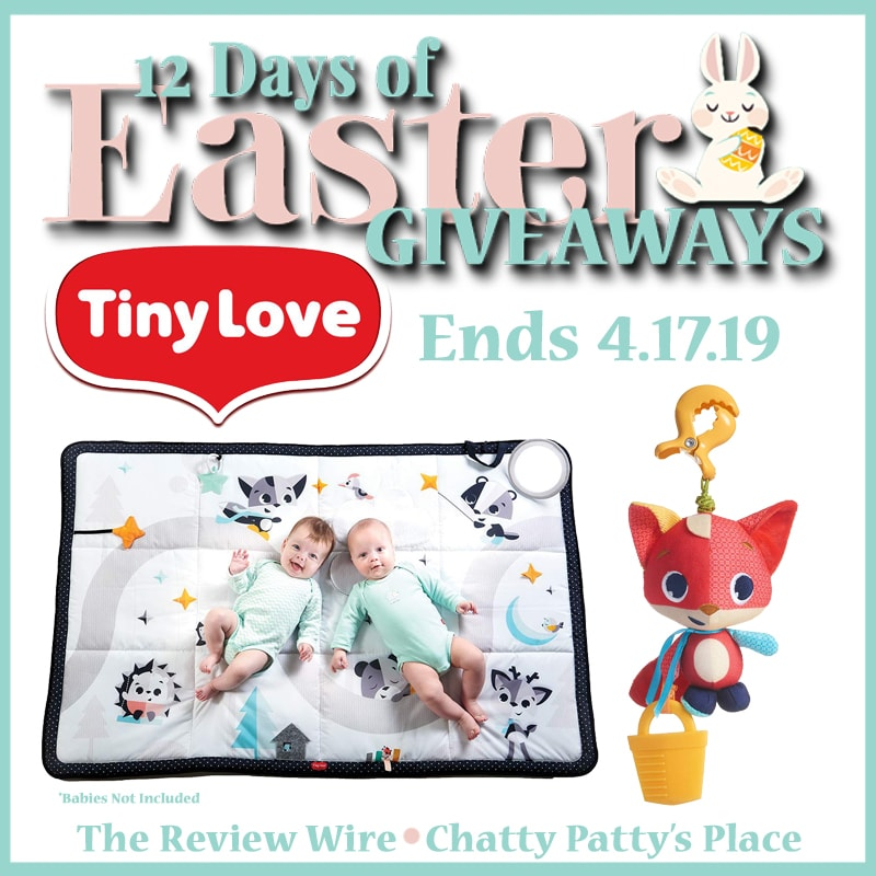 The Review Wire: Tiny Love Giveaway. Ends 4.17.19