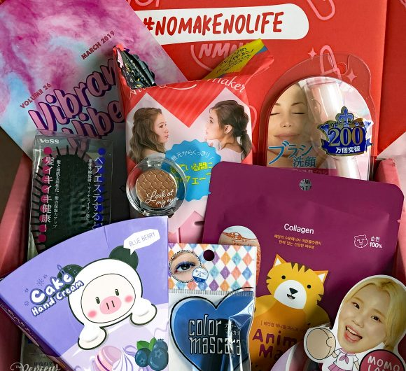 The Review Wire: nomakenolife Korean and Japanese Beauty Box - March 2019