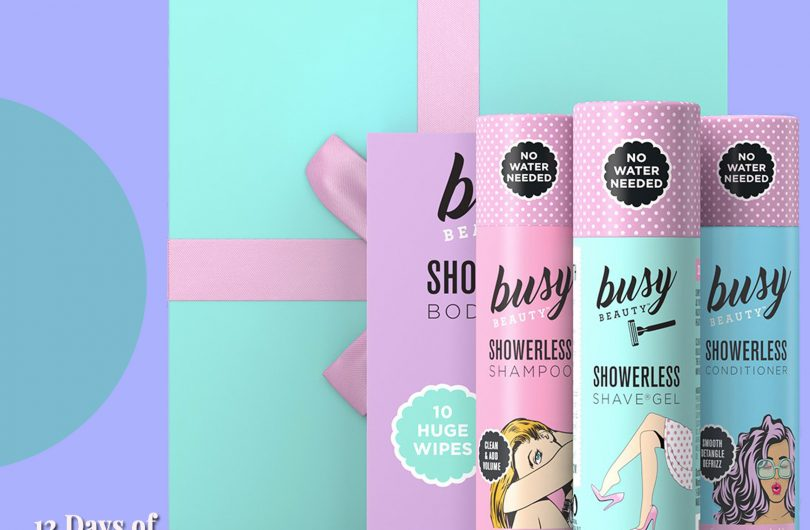 The Review Wire: Busy Beauty Showerless Gift Kit Giveaway. Ends 5.21.19