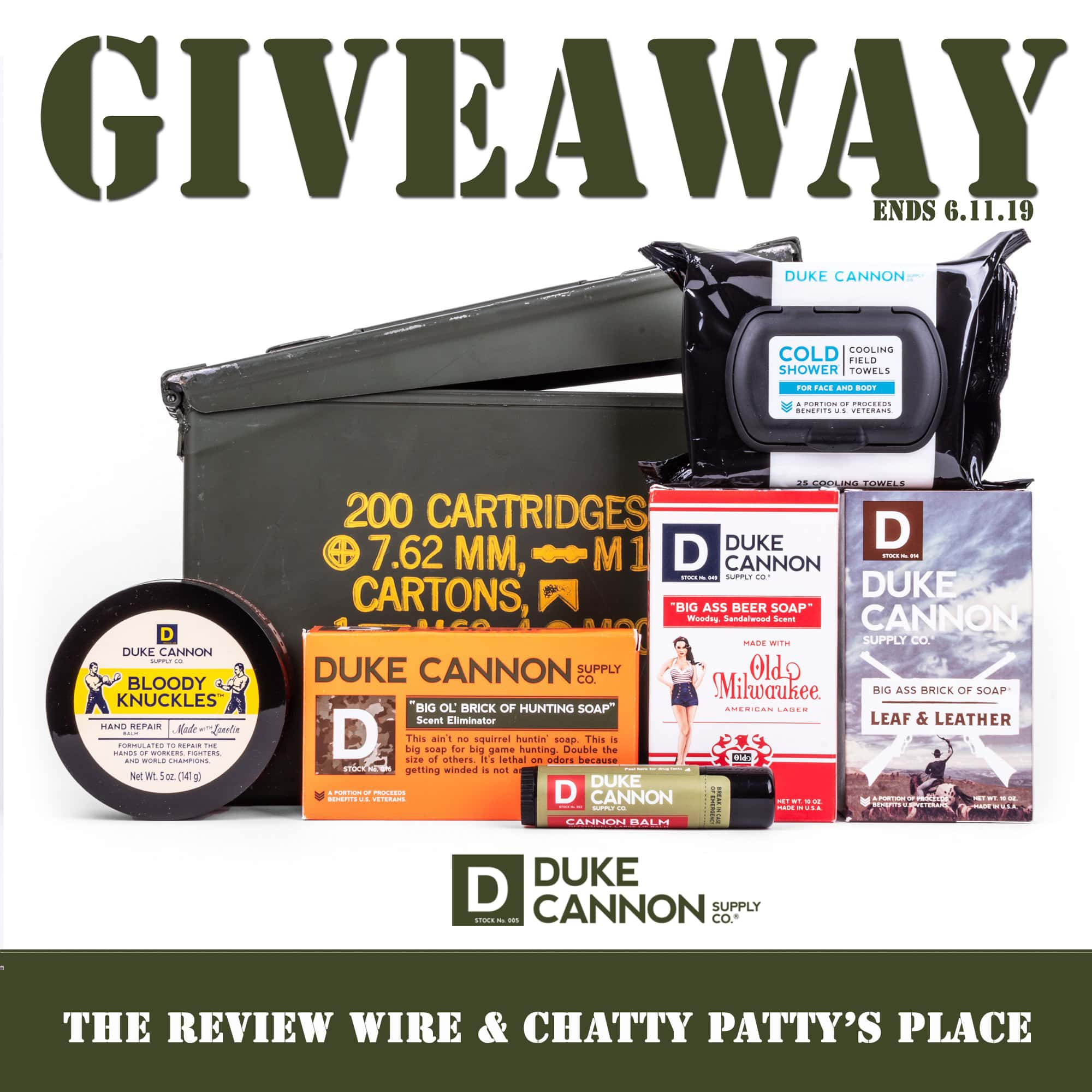 The Review Wire: Duke Cannon Tackle Box Giveaway. Ends 6.11.19