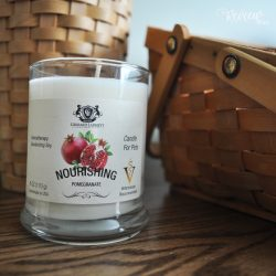 The Review Wire: Gerrard Larriett Pomegranate Aromatherapy Deodorizing Soy Candle For Pets