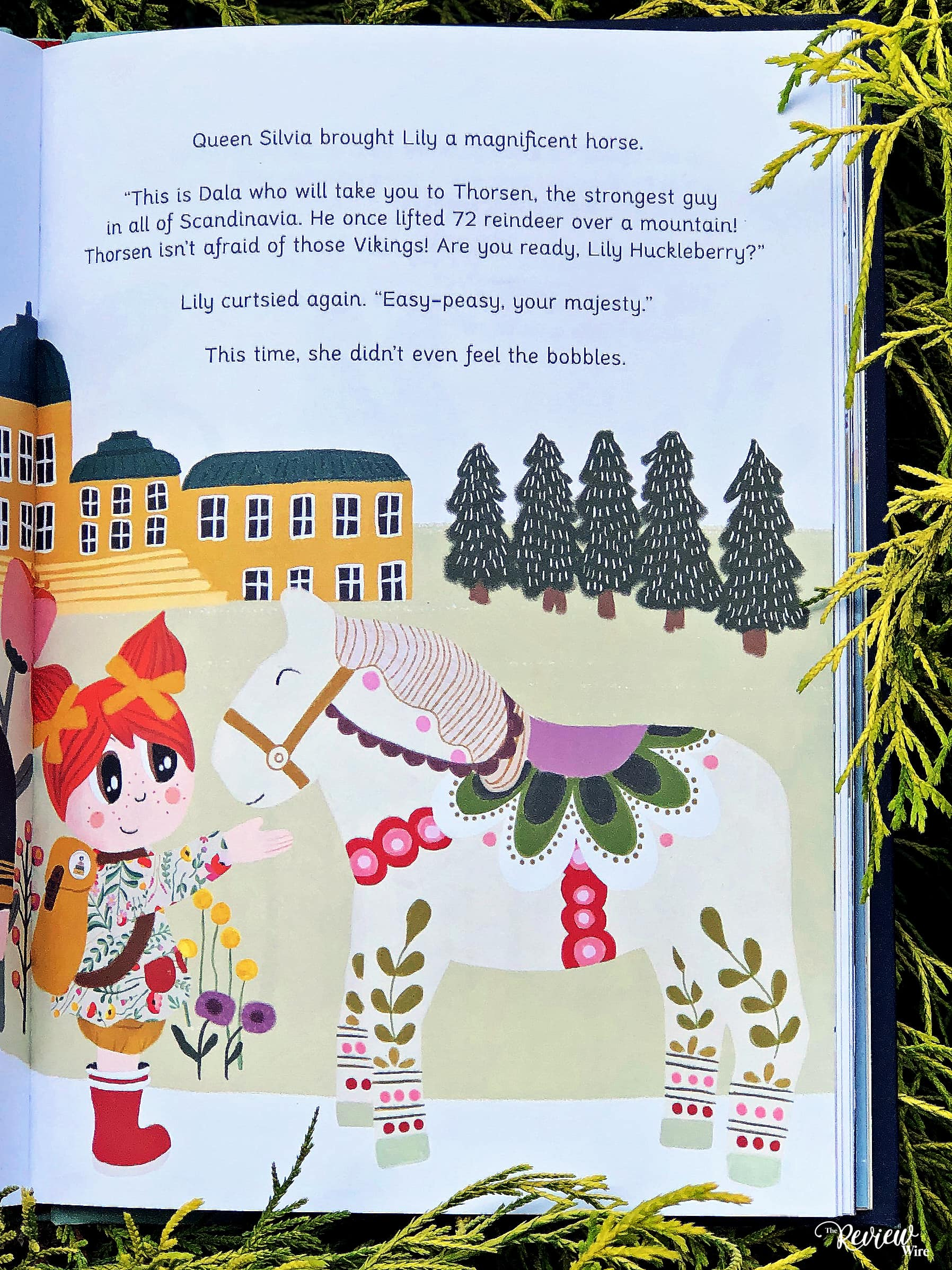 The Review Wire: The Adventures of Lily Huckleberry in Scandinavia - Pg 55