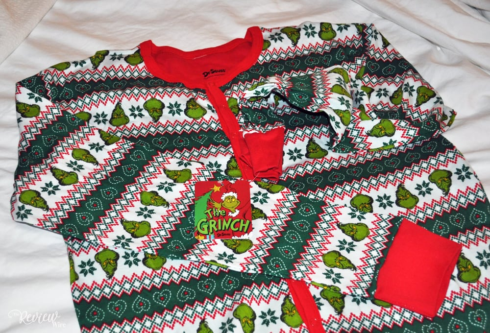 The Review Wire: The Grinch Union Suit Pajama from Ugly Christmas Sweater
