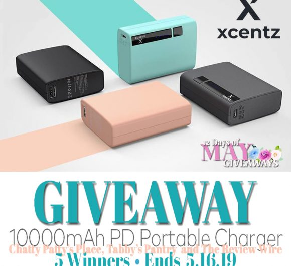 The Review Wire: Xcentz Charger Giveaway. Ends 5.16.19