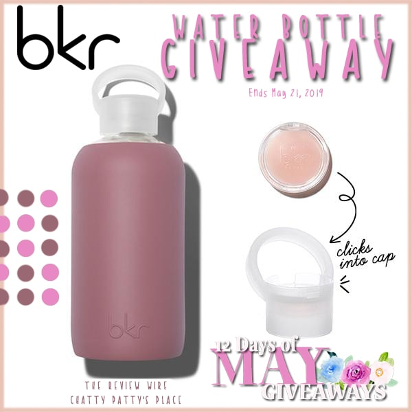 The Review Wire: bkr water bottle giveaway. Ends 5.21.19