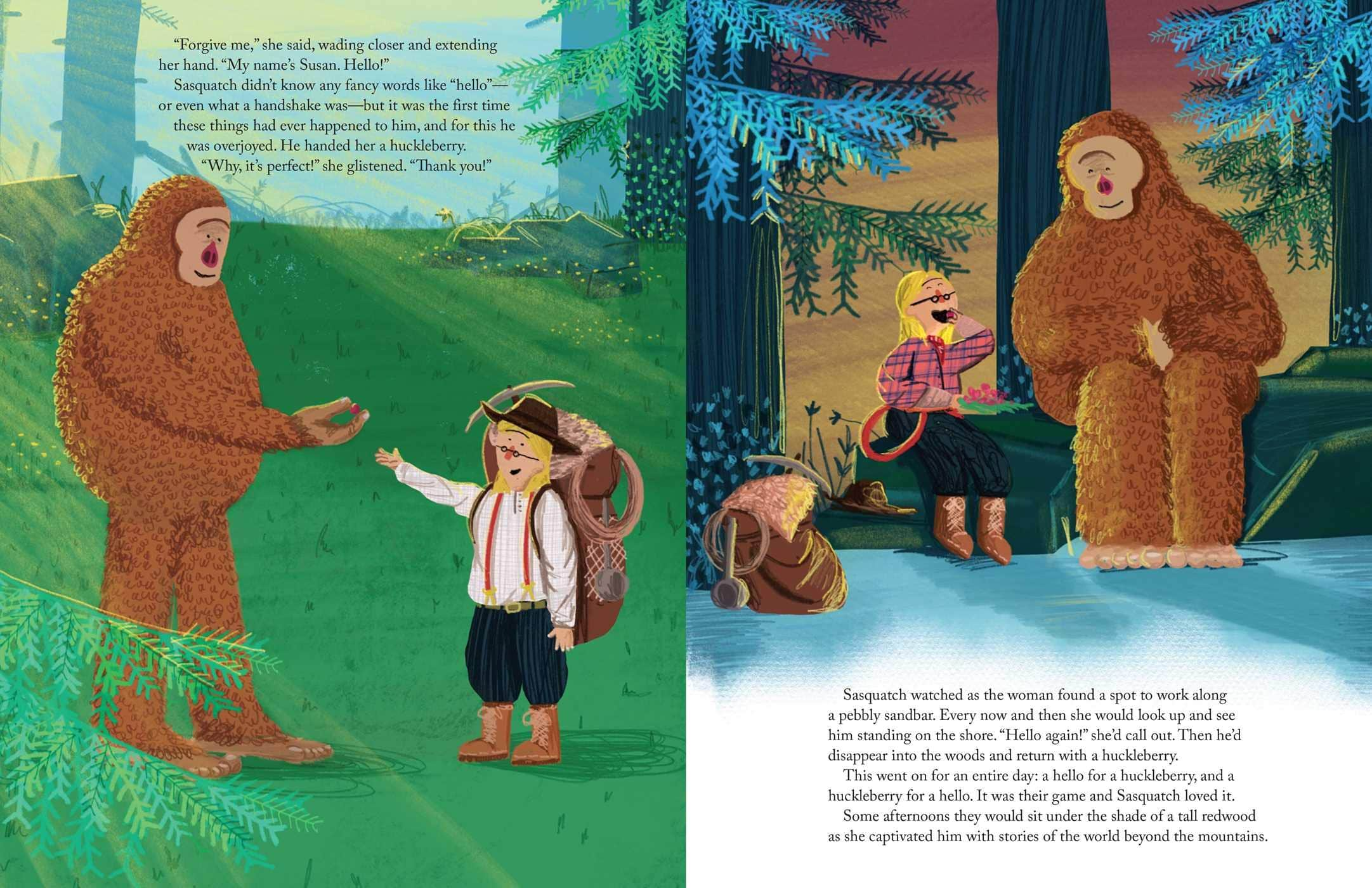 A Smile for Sasquatch A Missing Link Story - Inside Look