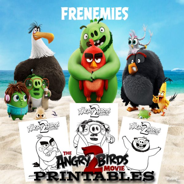 The Review Wire: Angry Birds 2 Printables