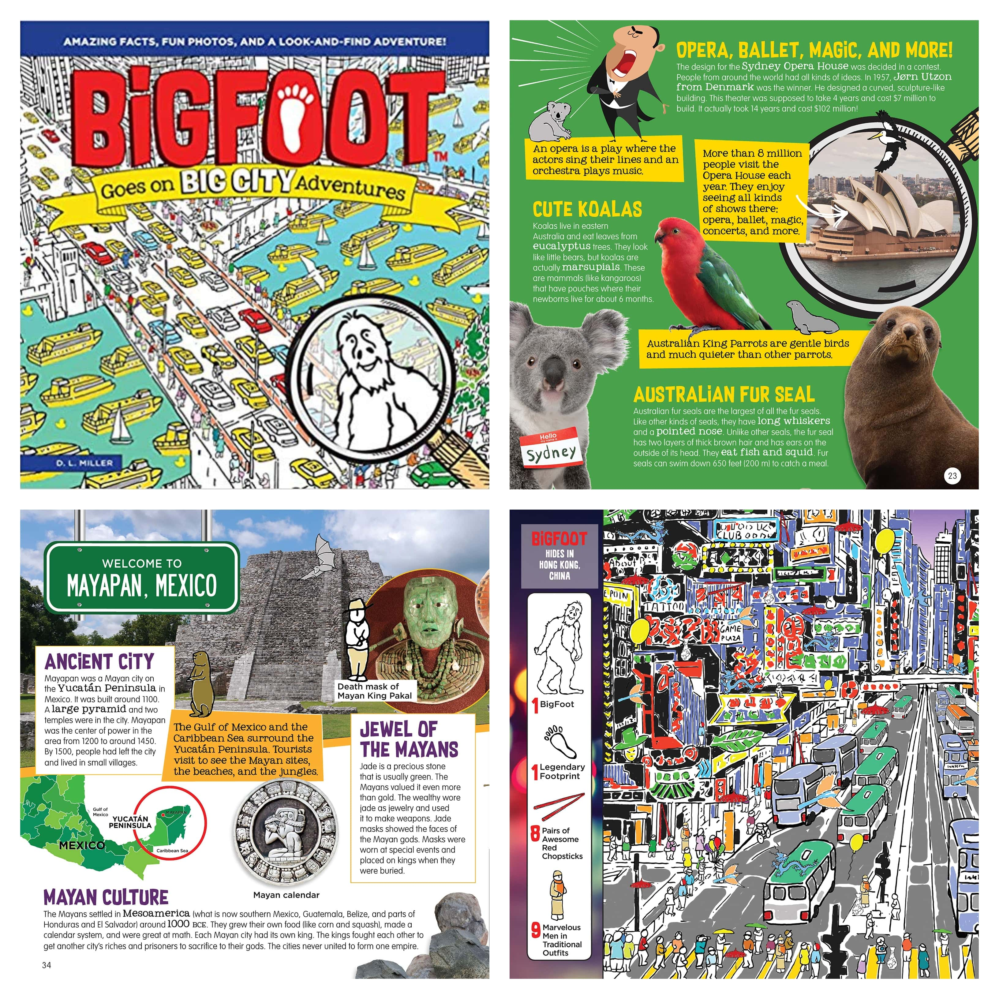 The Review Wire: BigFoot Goes on Big City Adventures