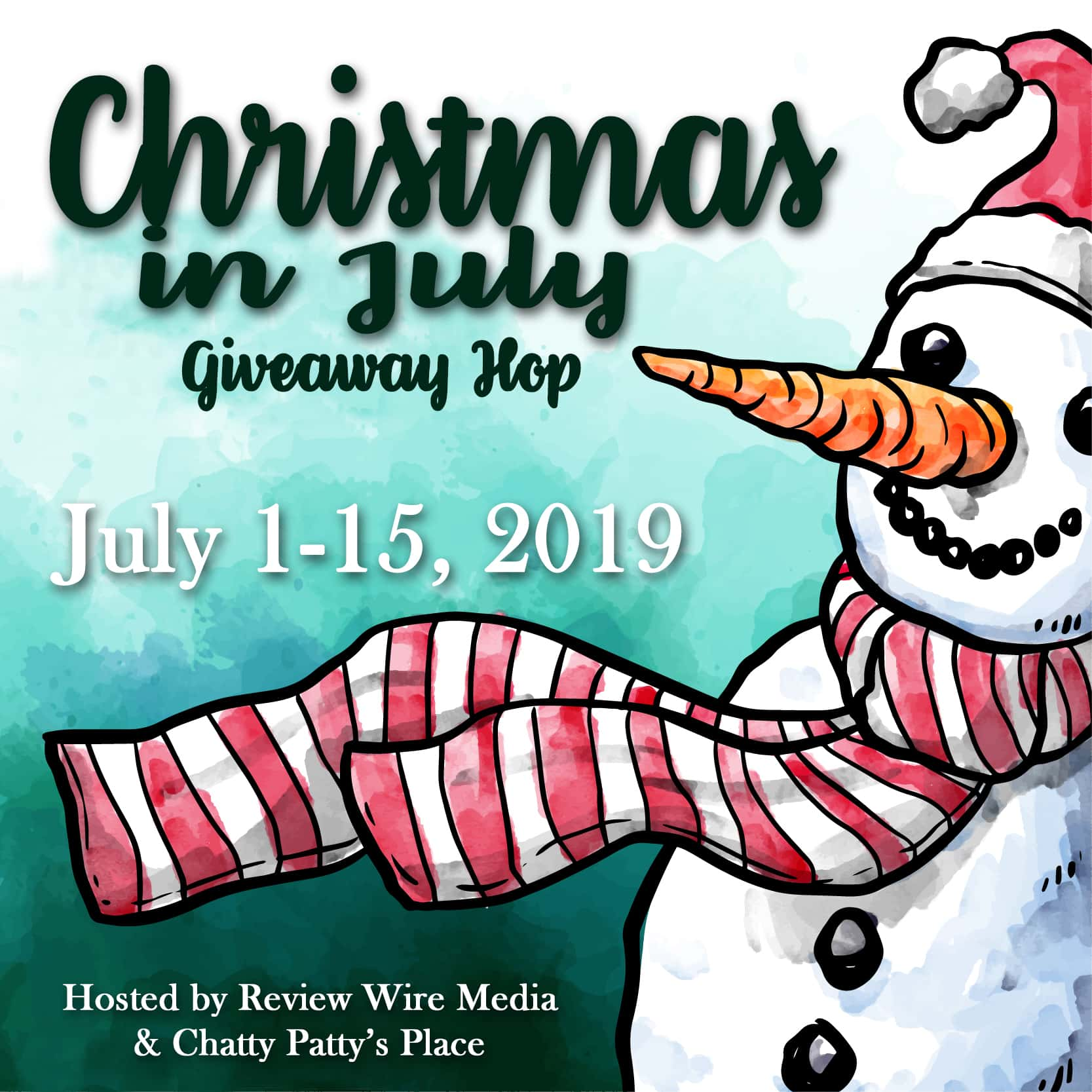 The Review Wire: Christmas in July Hop. Ends July 15, 2019