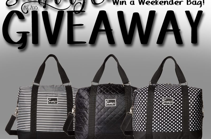 The Review Wire: Simplily Co. Weekender Bag Giveaway. Ends 6.24.19