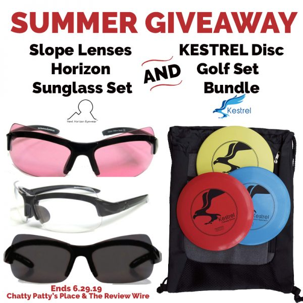 The Review Wire: Summer Giveaway: Sunglasses + Disc Golf Set. Ends 6.29.19
