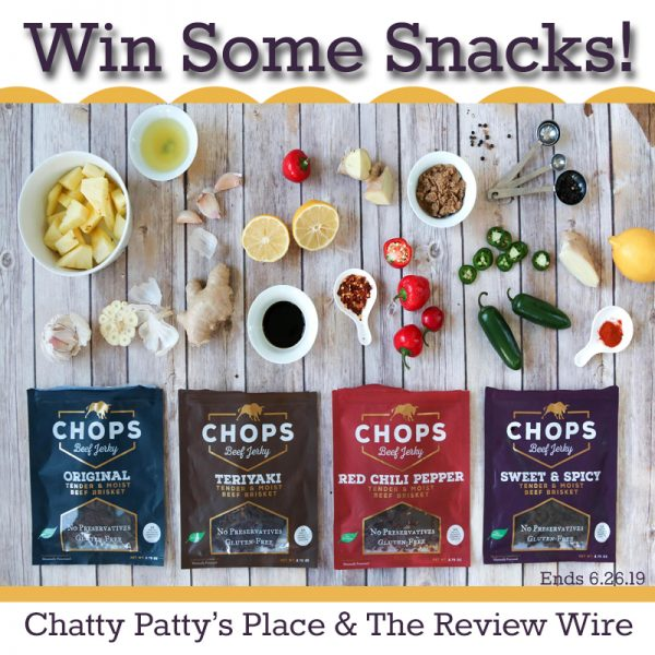 The Review Wire: T.O.P. Chops Giveaway. Ends 6.26.19