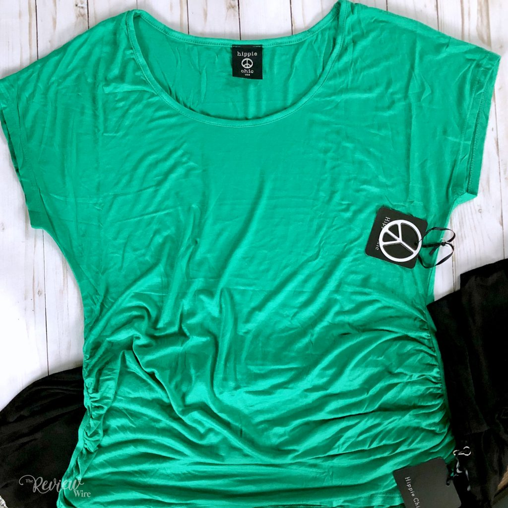 The Review Wire - Nadine West May 2019 Green Top