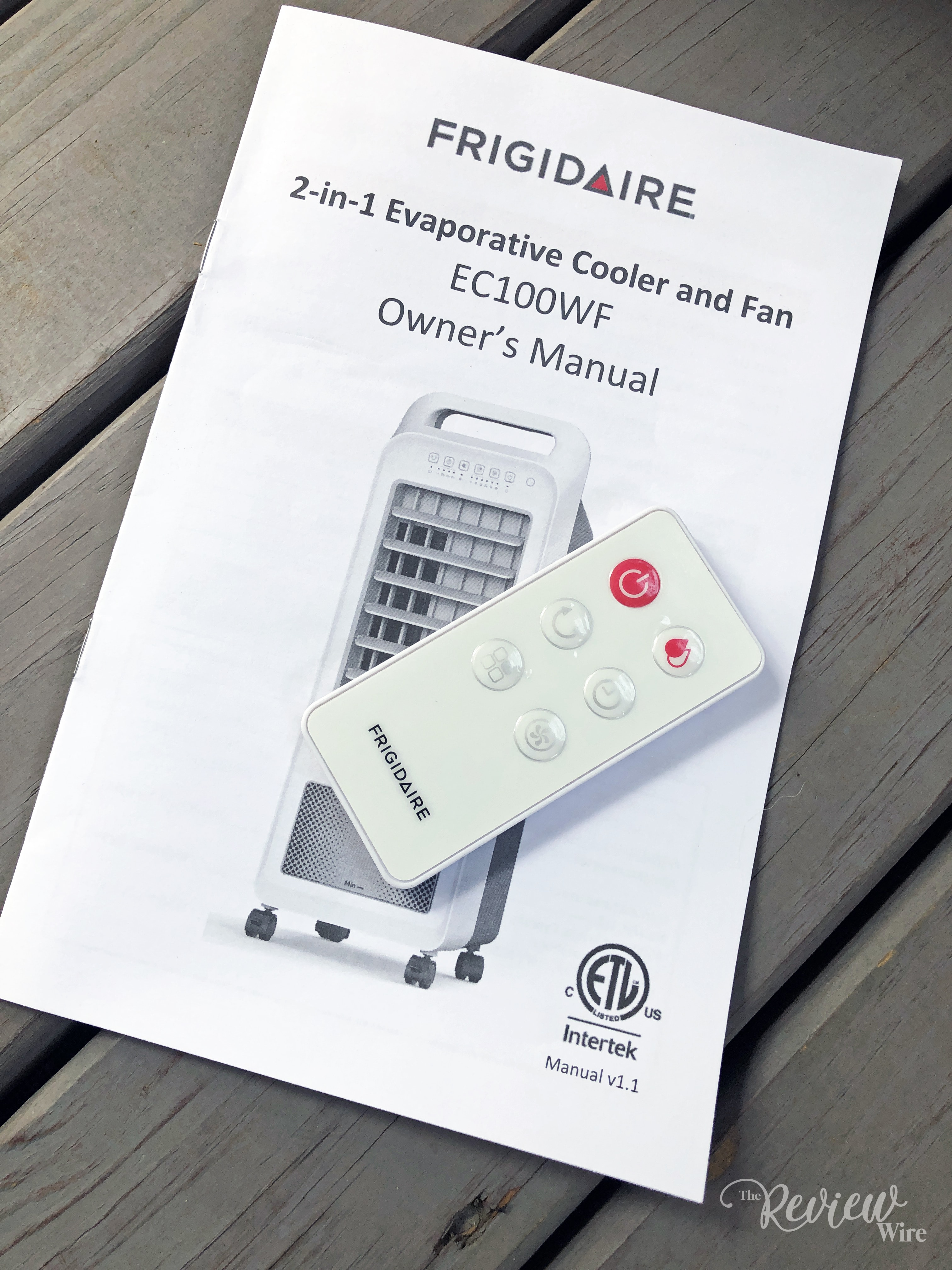 The Review Wire - Remote for the Frigidaire 2-in-1 Personal Evaporative Air Cooler and Fan
