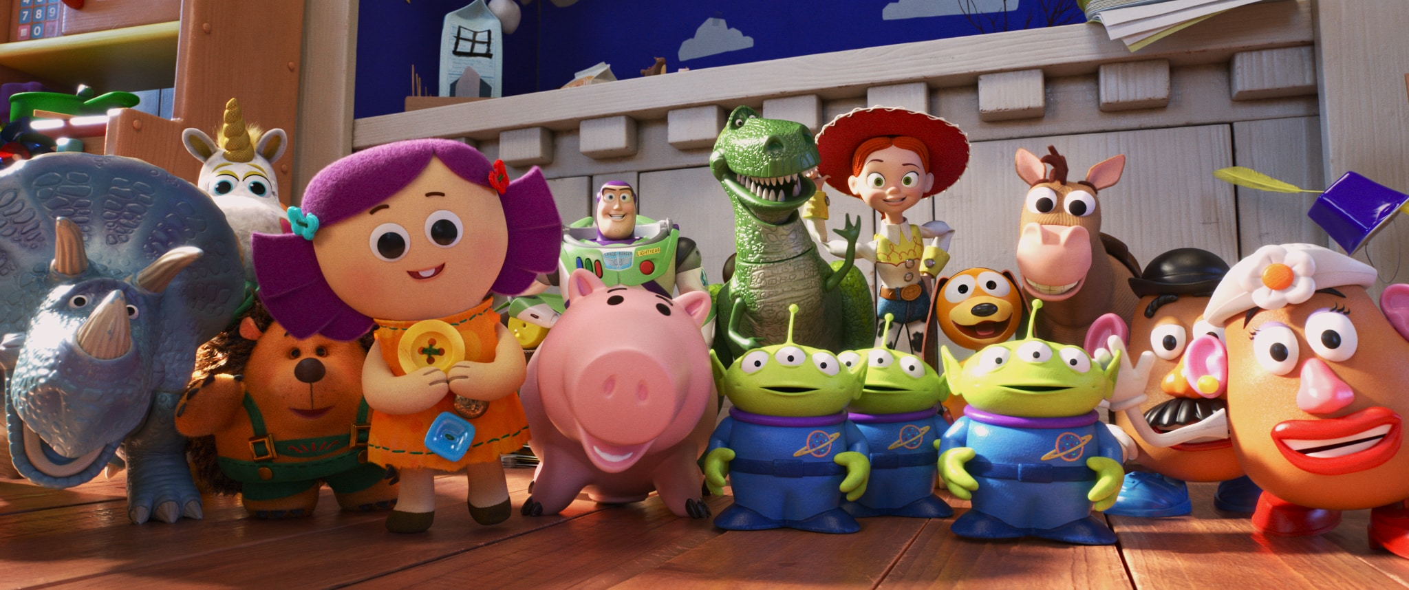 The Review Wire: Toy Story 4 Gang