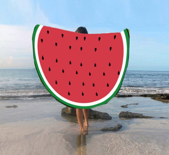 The Review Wire: Watermelon Fruit Beach Towel Giveaway. Ends 6.28.19