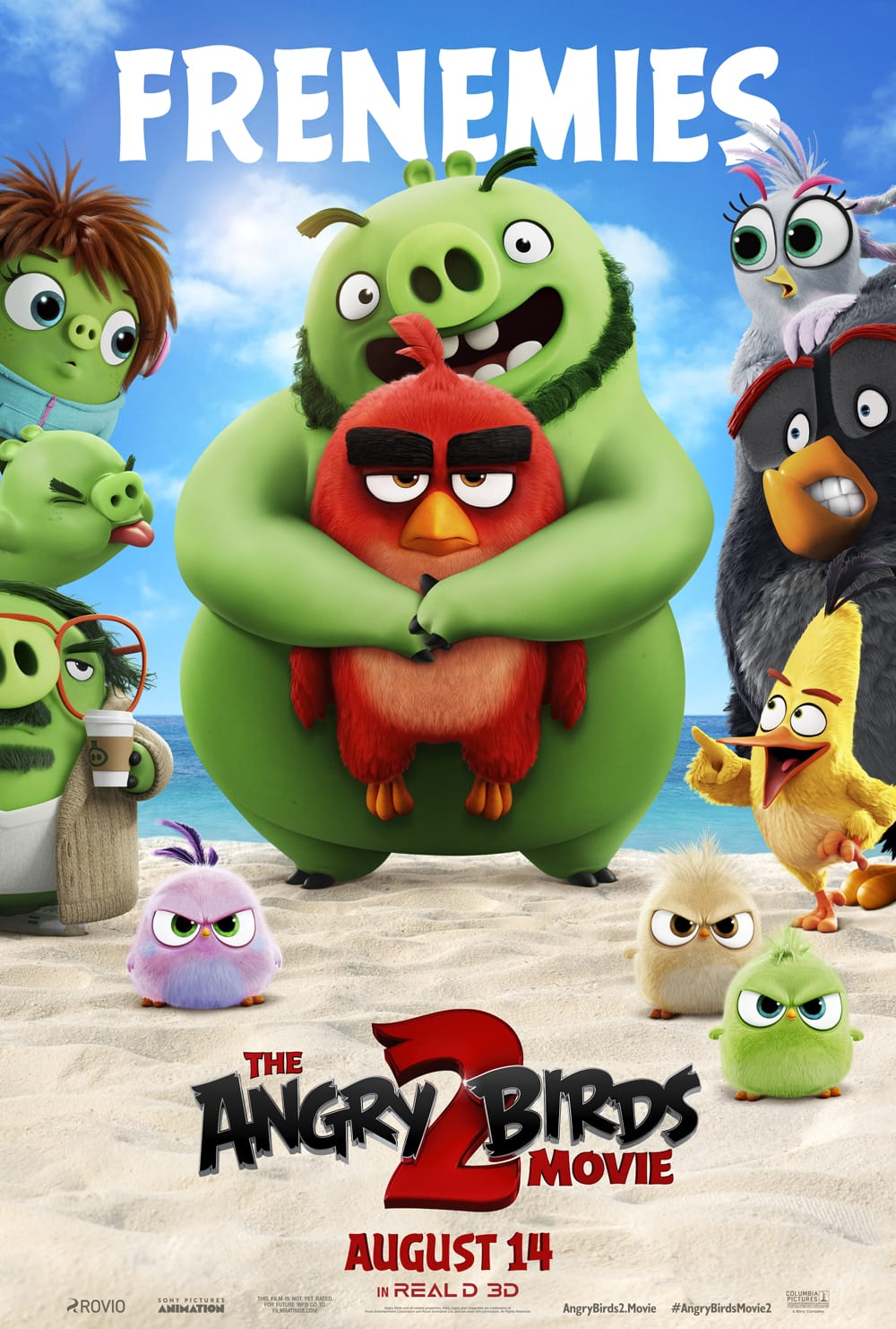 The Review Wire: Angry Birds 2 One Sheet. Download 9 Coloring Pages!