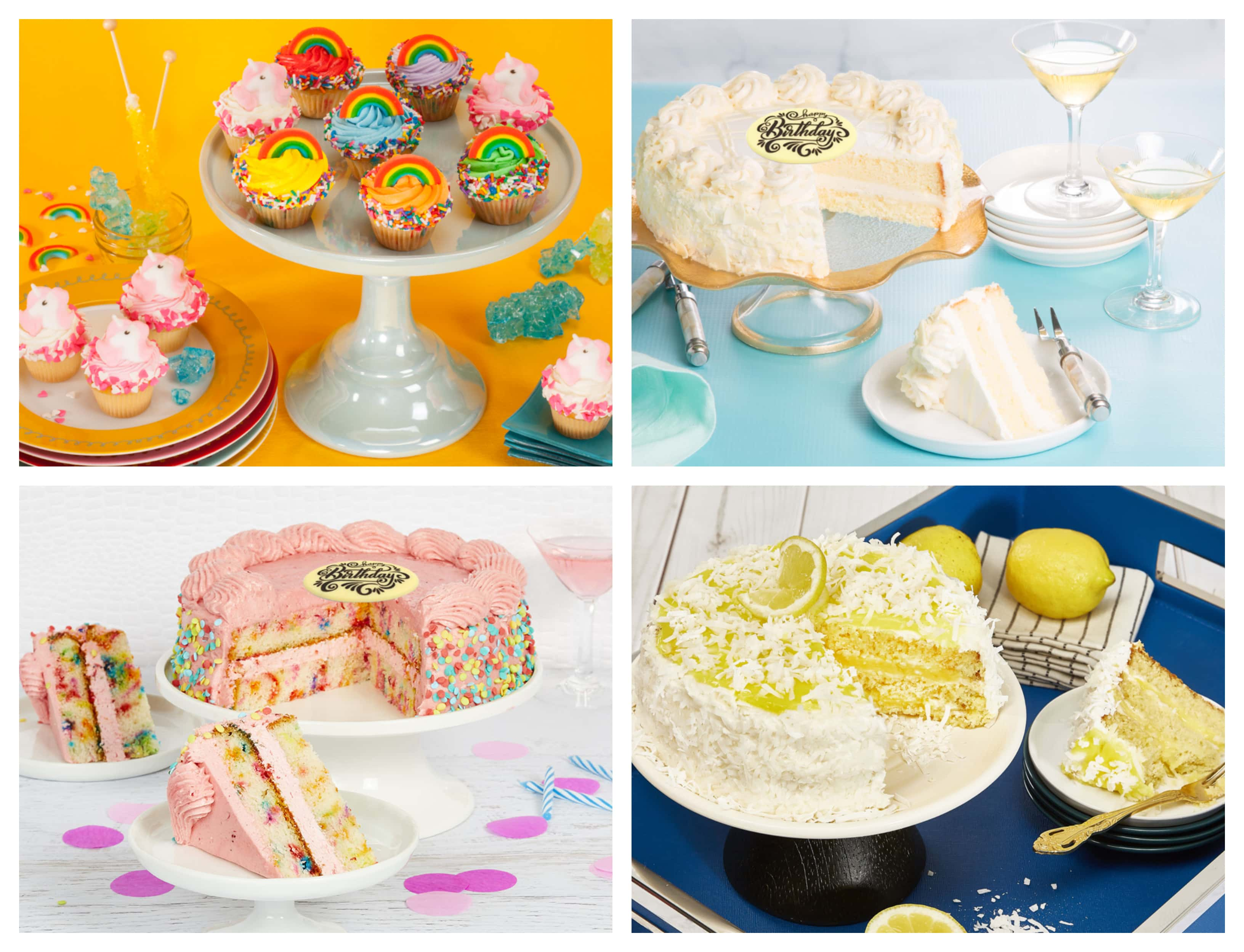 The Review Wire: Bake Me a Wish Summertime Cakes