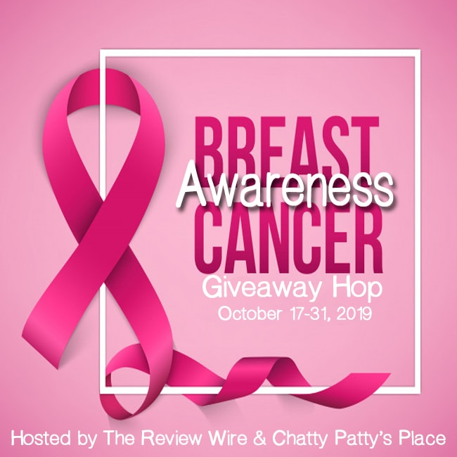 Breast Cancer Awareness Giveaway Hop. Oct 17-31, 2019