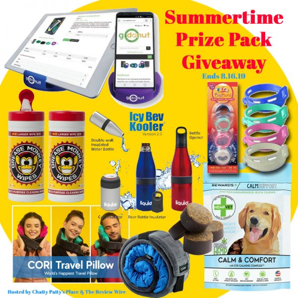 The Review Wire: Sweet summertime Prize Pack Giveaway 2019