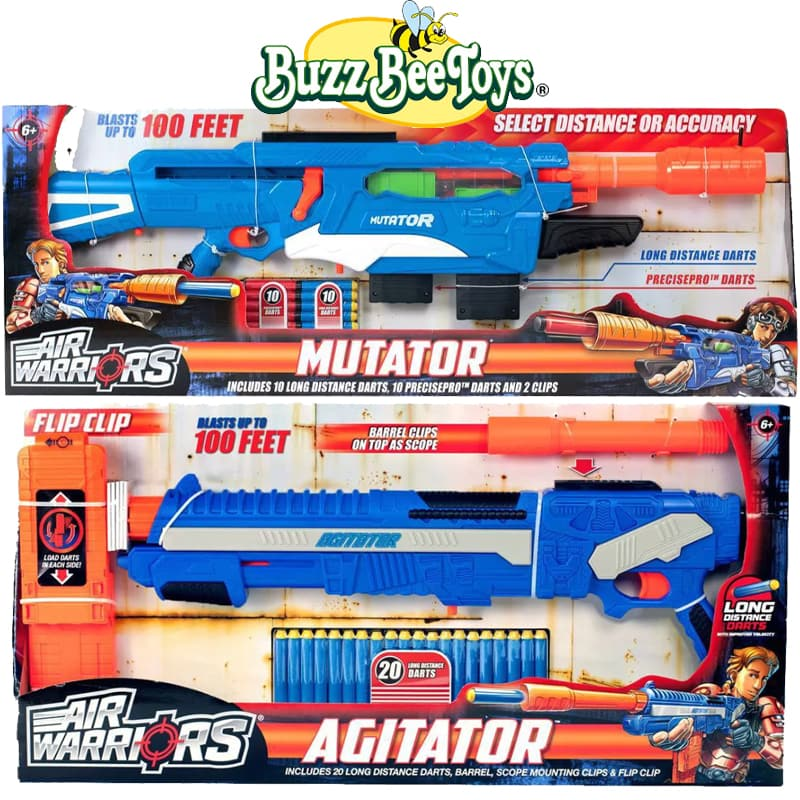 The Review Wire: Buzz Bee Toys Air Warriors 2019
