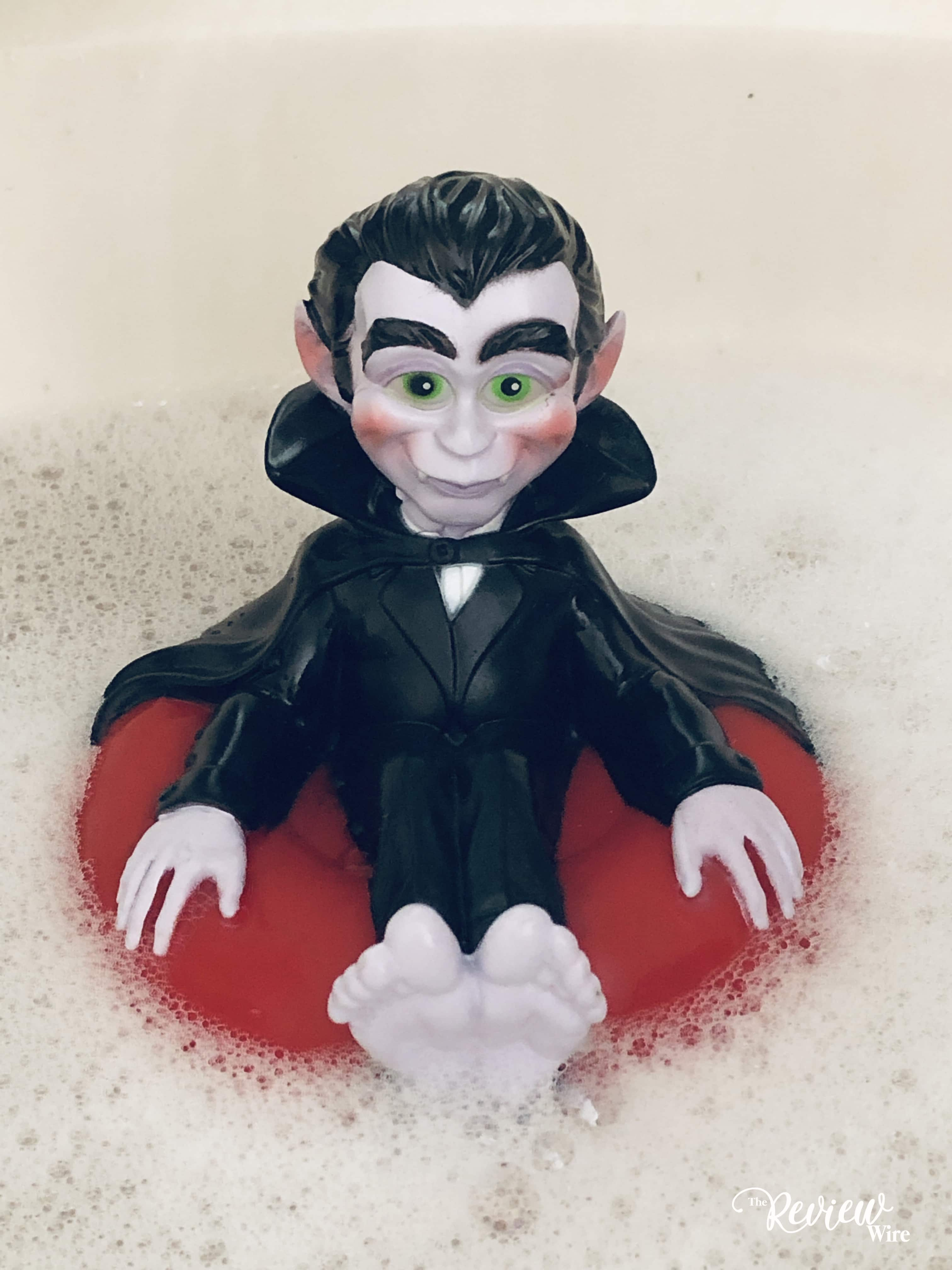 The Review Wire: Drac Bath Toy