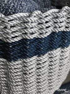 The Review Wire: Nautical Rope Basket from The Grommet