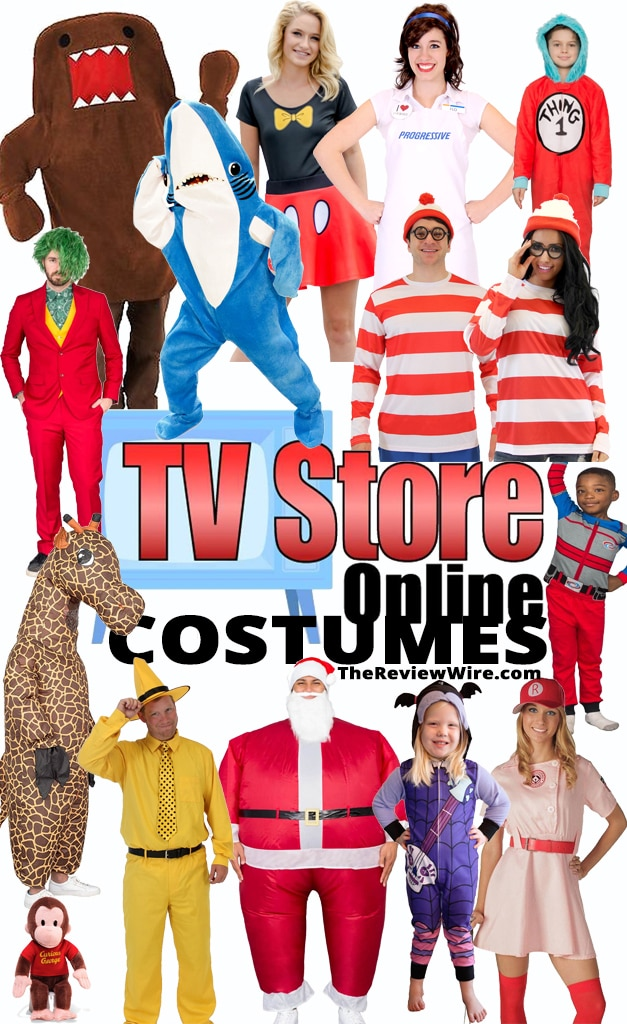 The Review Wire: TVStoreOnline Halloween Costumes